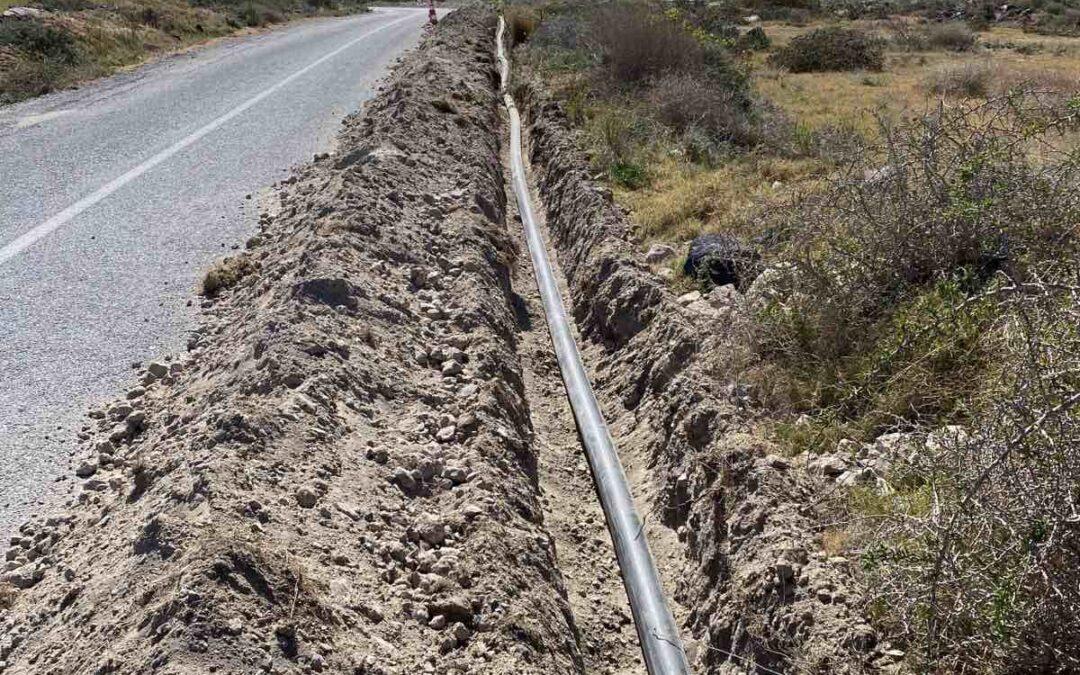 Η Δ.Ε.Υ.Α.Θ. λύνει  τα προβλήματα υδροδότησης στη Θηρασιά